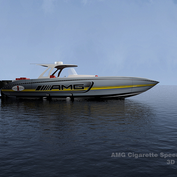 AMG Cigarette Speed BOAT