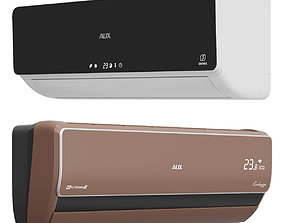 3D model game-ready AUX AIR CONDITIONING