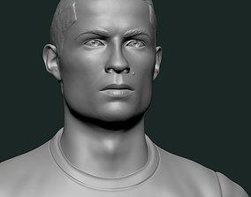 cristiano ronaldo CR7 3D print model sculpt