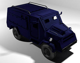 3D Armoured Car - Humberette