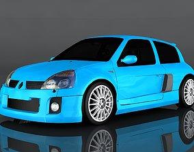 3D model low-poly Renault Sport Clio V6