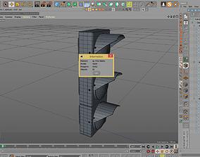 3D asset Stoplight