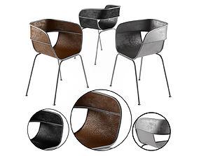 Scoop Chair industry west 3D model