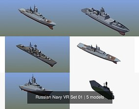 Russian Navy VR Set 01 3D model