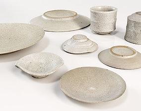 Japanese Tableware Set 4 3D model