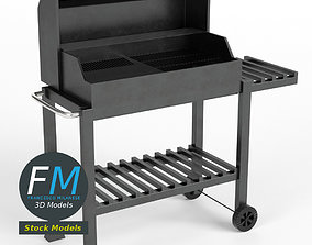3D BBQ barbecue