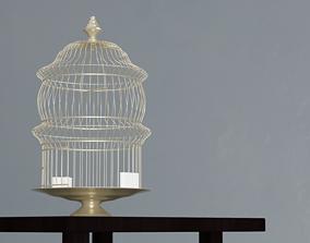 3D model rigged Birdcage vintage