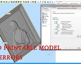 3D printable model The Mona Lisa