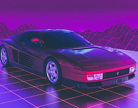 3D Ferrari Testarossa