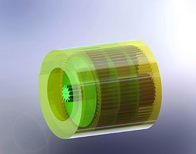 planetary gearbox mini version 3D printable model