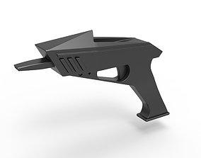 3D model Alien Vaporizer pistol from The Invaders 1697 TV