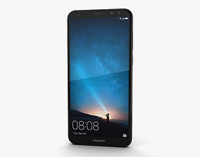 2i 3D model Huawei Mate 10 Lite Graphite Black