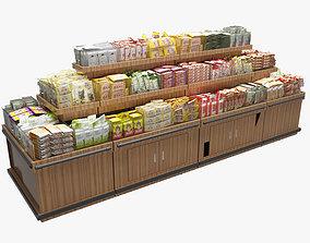 3D model Food Display Rack 2