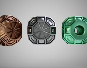 Geometric Bead 2 jewelry 3D printable model