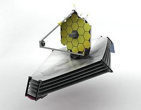 3D asset Webb Space Telescope