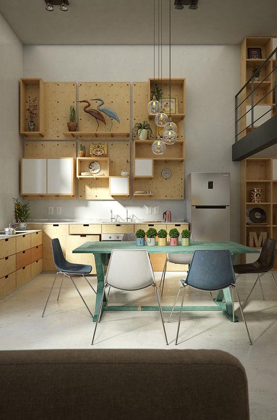 Contemporary Apartament