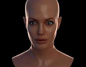 VR / AR ready 3d model Angelina Jolie