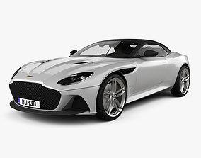 3D model Aston Martin DBS Superleggera Volante with HQ 1