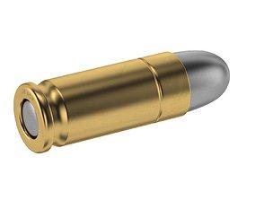 Bullet 38 ACP 3D asset
