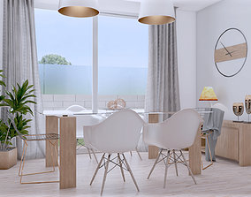 indoors 3D Dining room