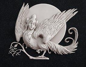 The bird Gamayun 3D print model