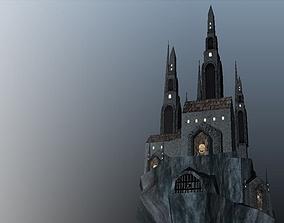 3D model Dracula s Castle