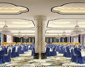 3D model Business Restaurant - Coffee - Banquet 07