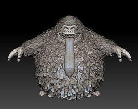 real Yeti 3D model