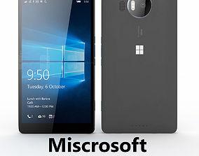 3D Microsoft Lumia 950 XL Black
