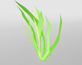 3D asset Grass 005