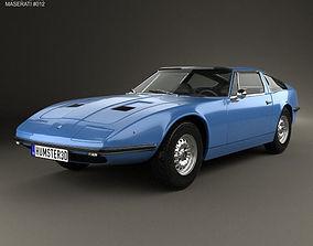 3D Maserati Indy 1969