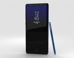 3D Samsung Galaxy Note 8 Deepsea Blue