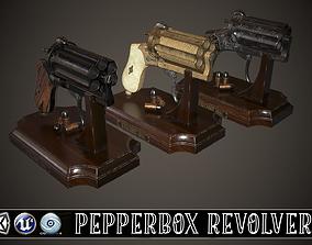 3D model PEPPERBOX REVOLVER