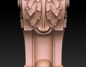 3D printable model decorative bracket