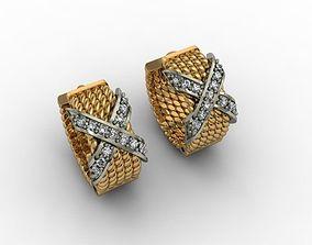 jewellery earring 3D printable model
