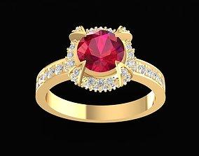 special 1703 Diamond ring 3D printable model