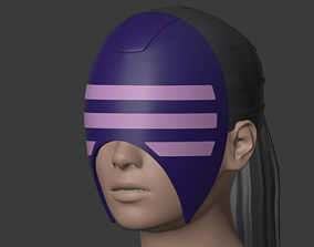 3D printable model Decapre mask from Street Fighter