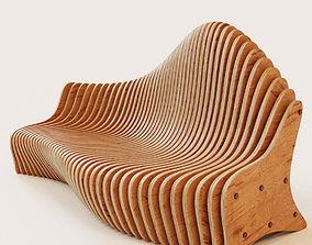 Parametric bench 3D