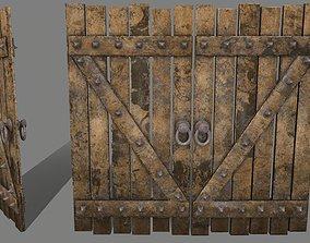 Medieval Door 3D model