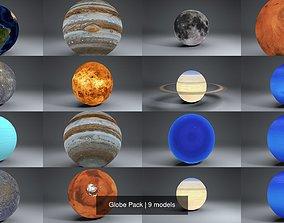 3D Globe Pack