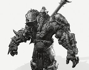 3D Zbrush Orc