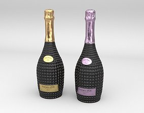 Nicolas Feuillatte Palmes Dor Champagne Vintage Rose 3D