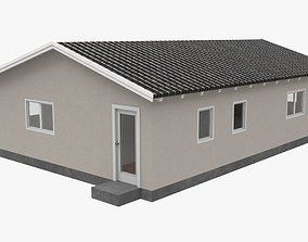 House with interior 04 3D model