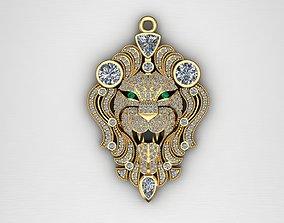 Luxury Pendant Lion 3D Print Model