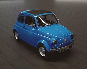 Fiat 500 Lusso 1970 3D model