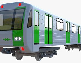Subway car 81-71 3D model