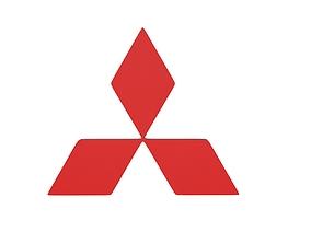 3D model Mitsubishi Emblem