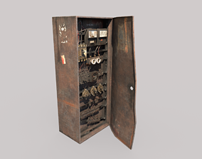 3D Old Fuse Box