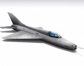 Mig-21 Fishbed 3D model
