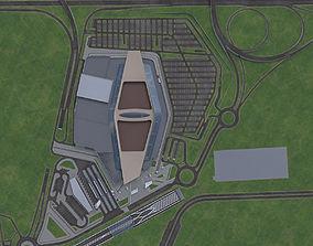 3D model Urban Area 10